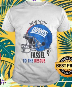 New York Giants Fassel to the rescue shirt