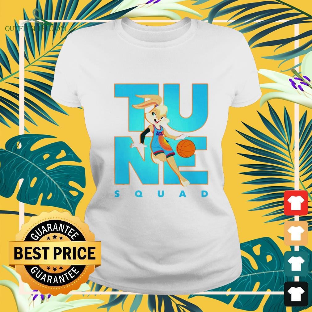 Space Jam A new legacy tune squad basketball ladies-tee