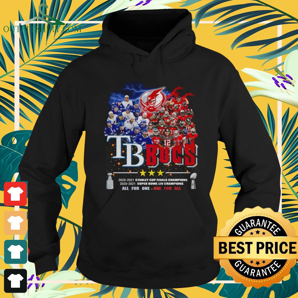Tampa Bay Buccaneers All for one one for all Champions hoodie