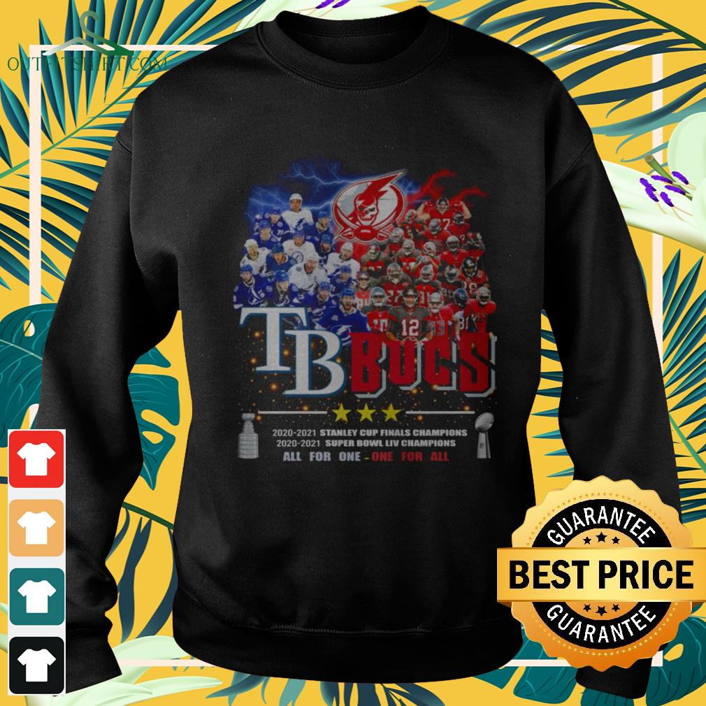 Tampa Bay Buccaneers All for one one for all Champions sweater