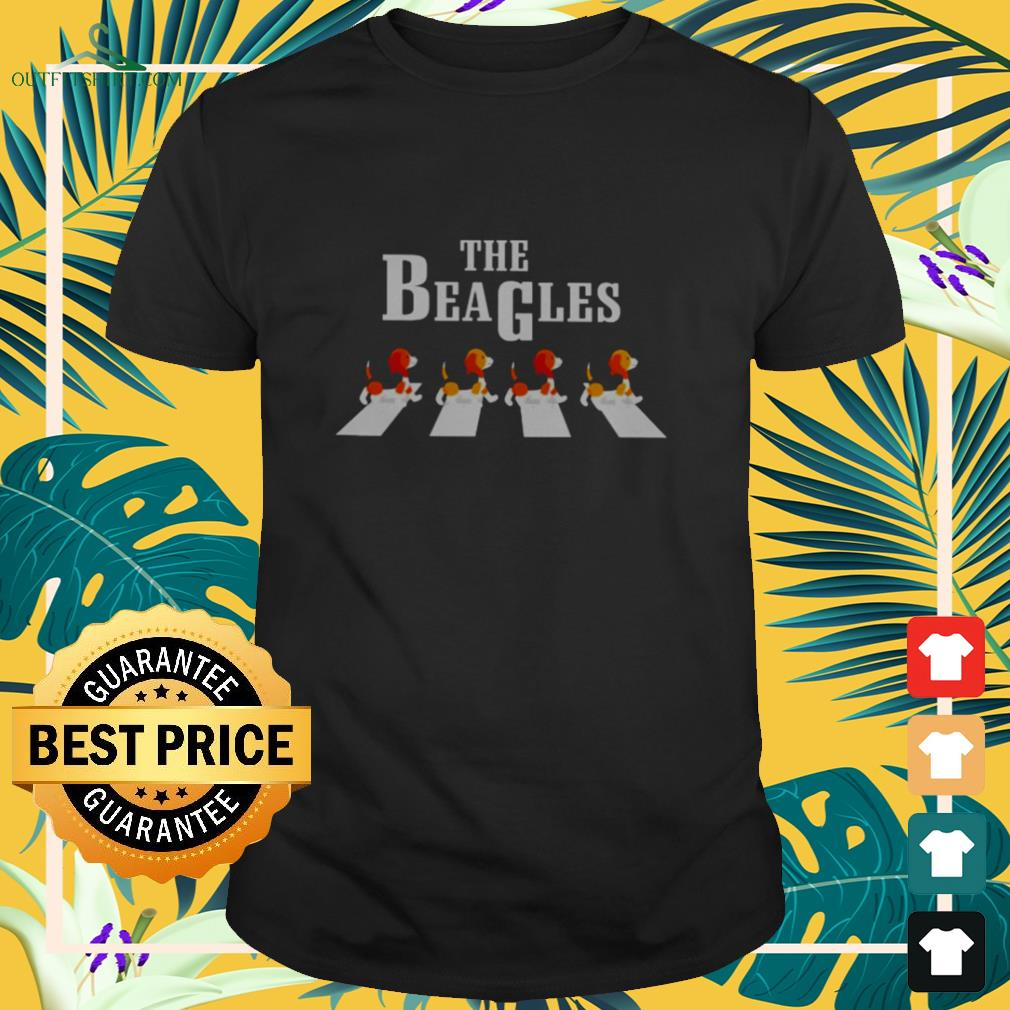 The Beagles Abbey Road dog lovers shirt