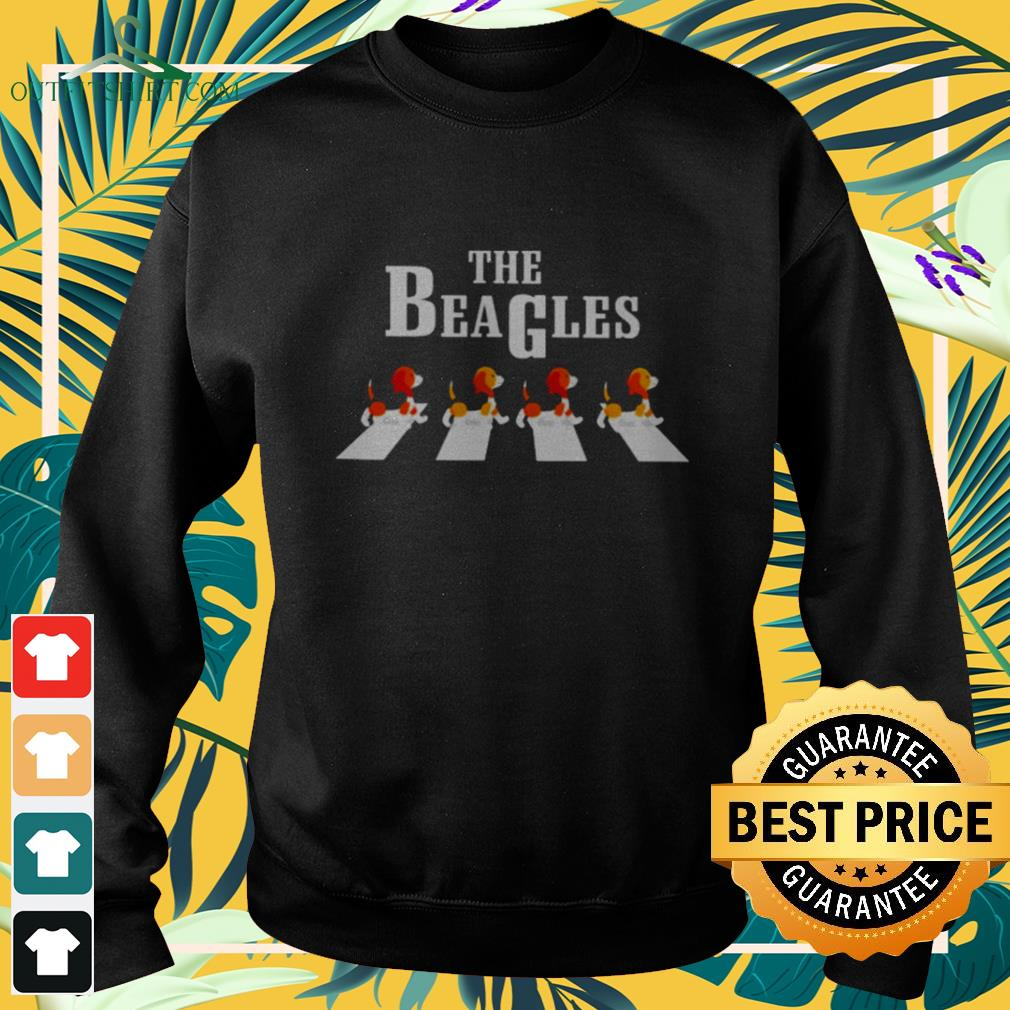 The Beagles Abbey Road dog lovers sweater