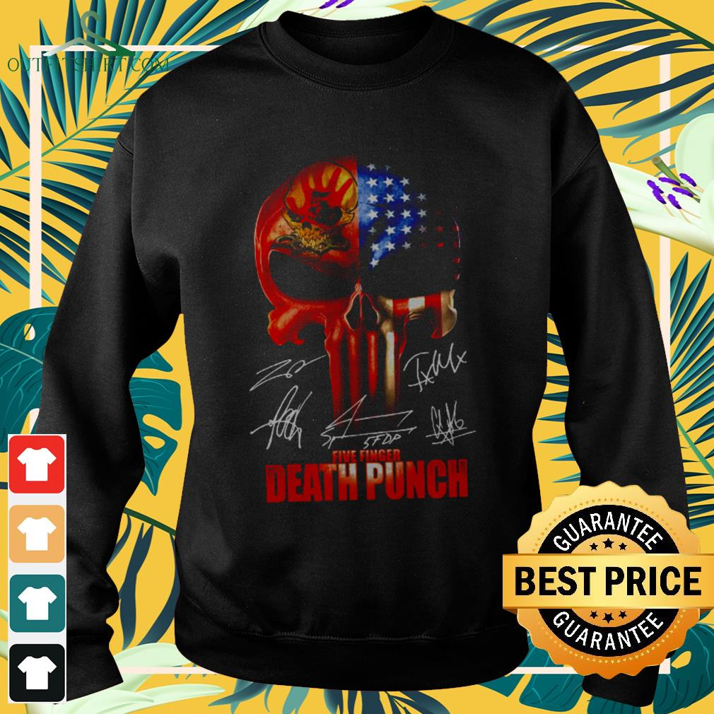 ` The Punisher Skull Five Finger Death Punch signatures sweater