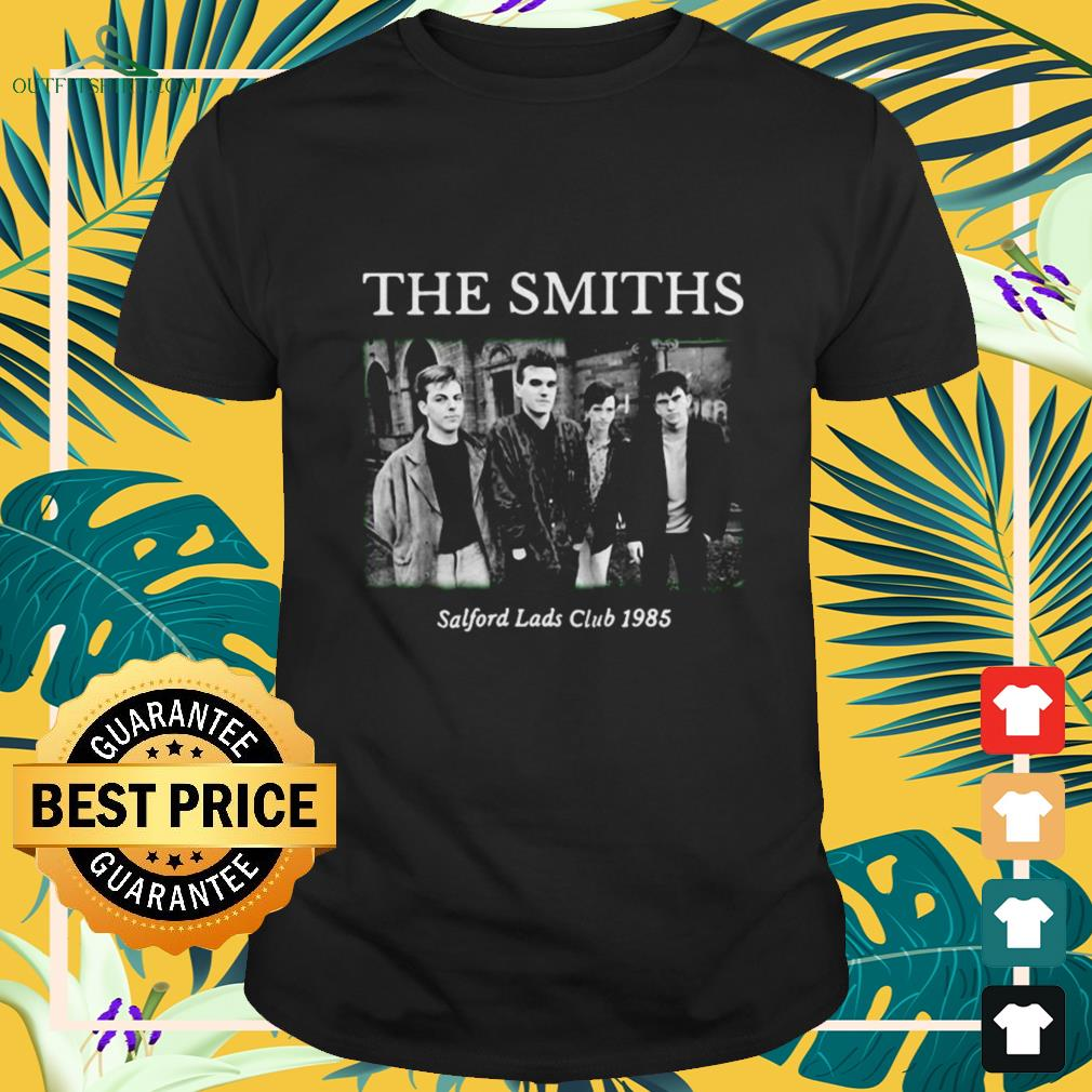 The Smiths At Salford Lads Club 1985 shirt