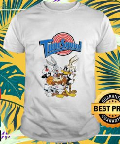 Tune Squad Space Jam characters shirt