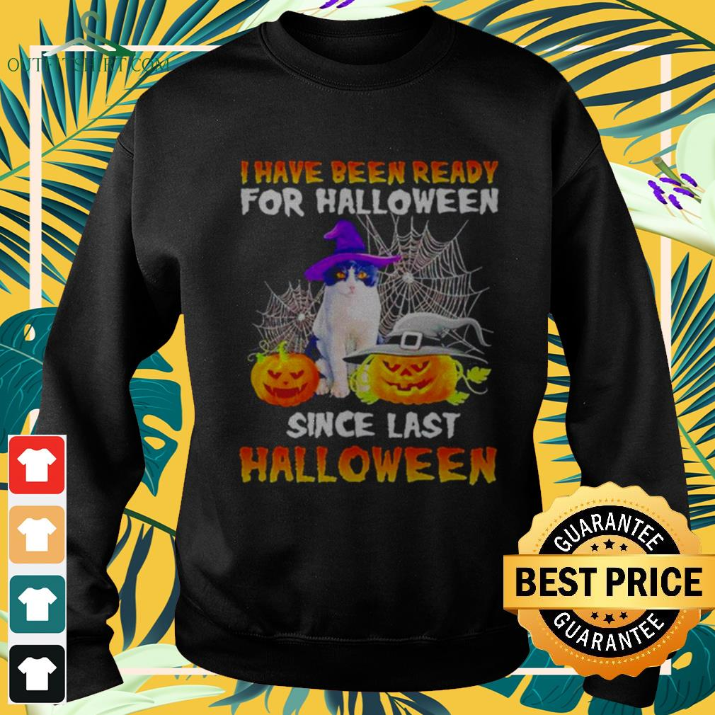 Cat I have been ready for Halloween since last Halloween sweater
