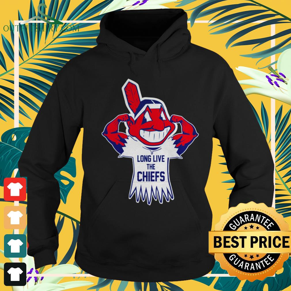 Cleveland Indians Long live the chiefs hoodie