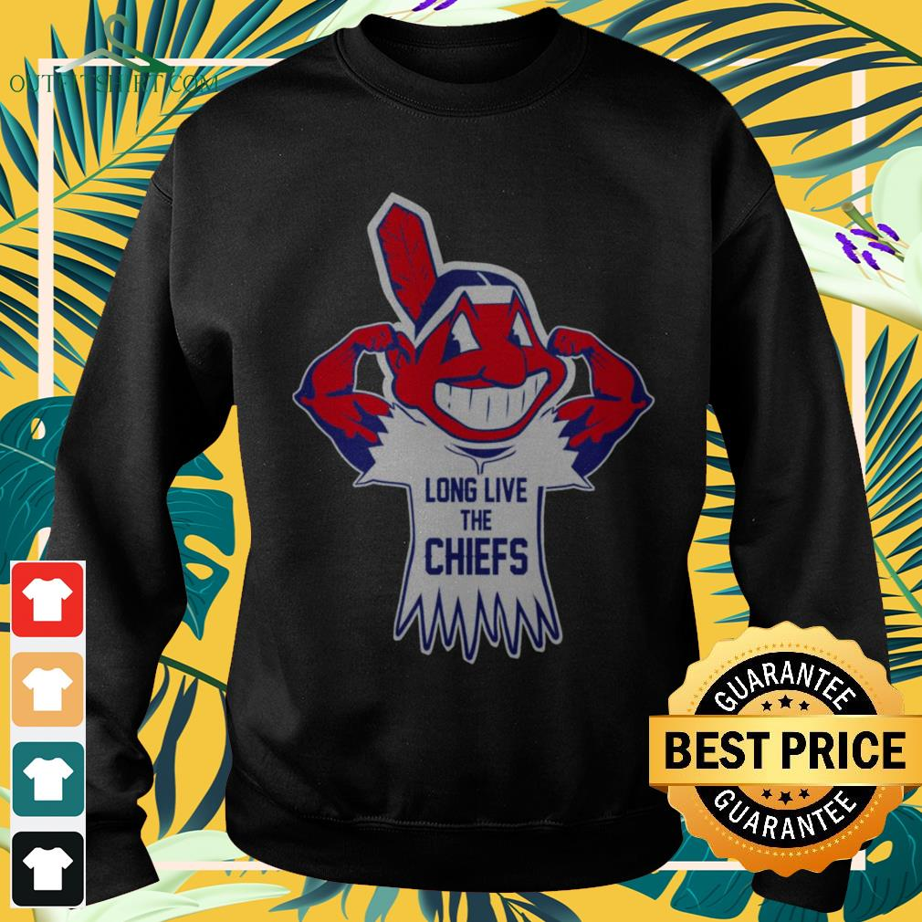 Cleveland Indians Long live the chiefs sweater