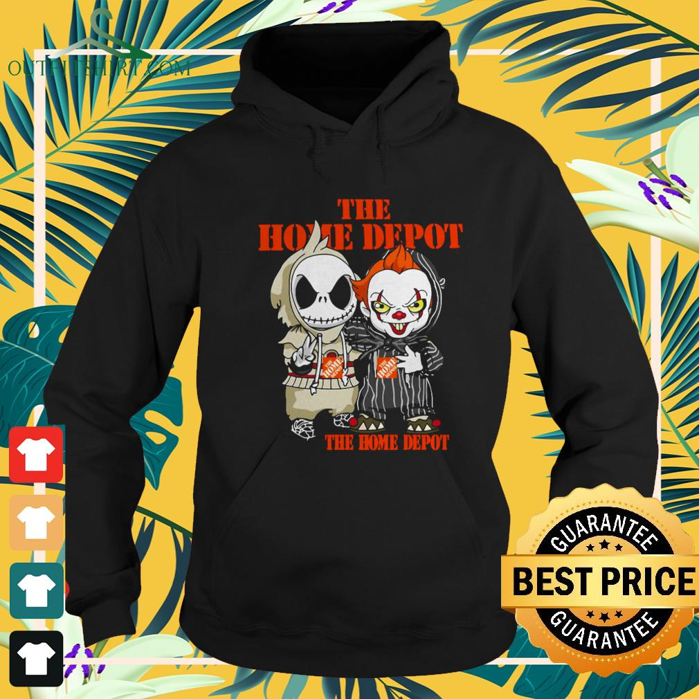 Jack Skellington And Pennywise The Home Depot Halloween hoodie