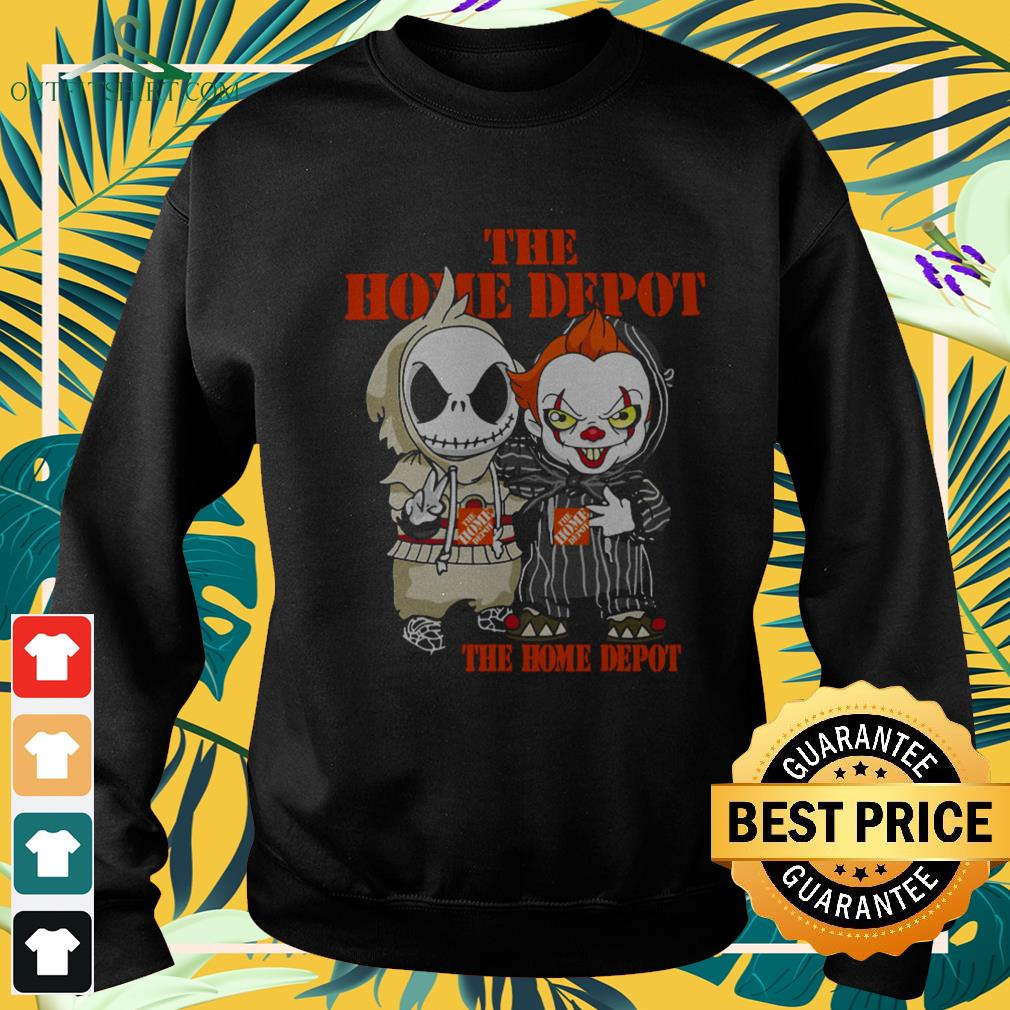 Jack Skellington And Pennywise The Home Depot Halloween sweater