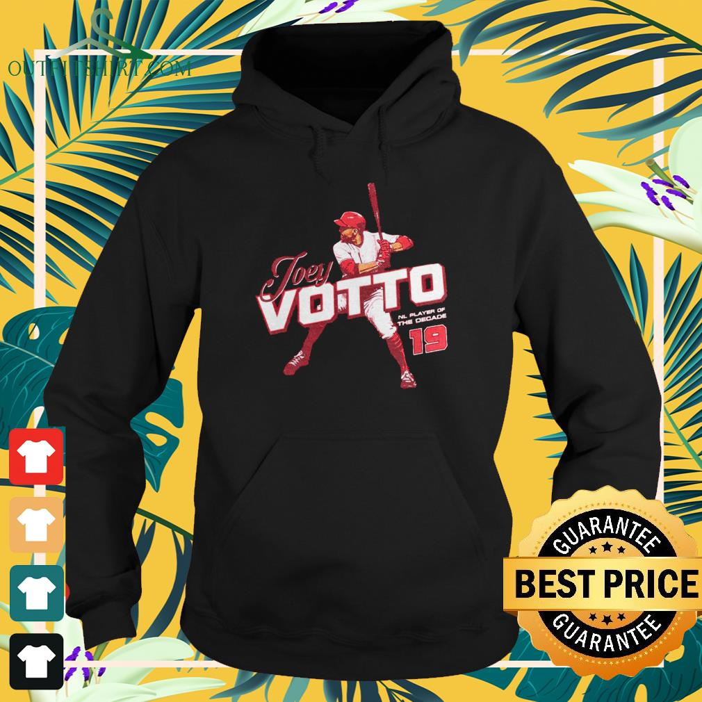 Joey Votto NL Player of the decade hoodie