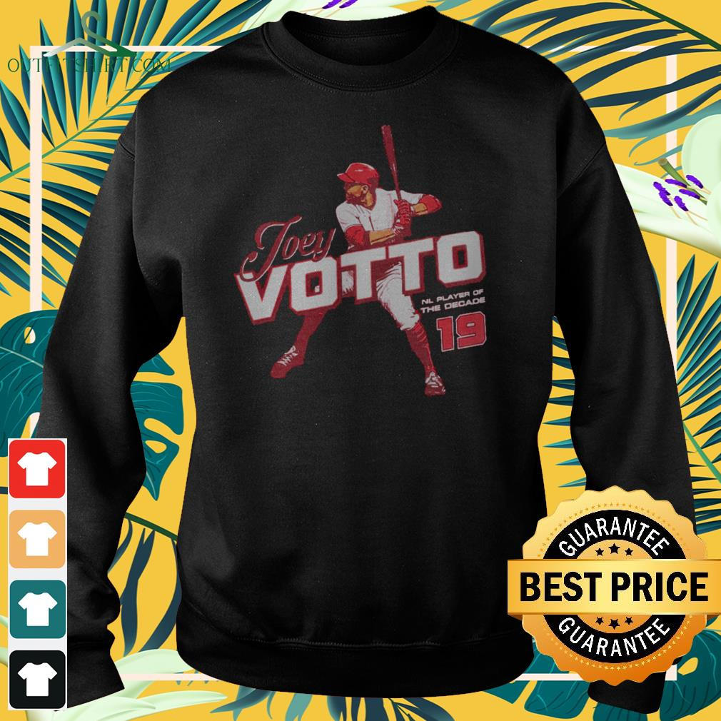 Joey Votto NL Player of the decade sweater