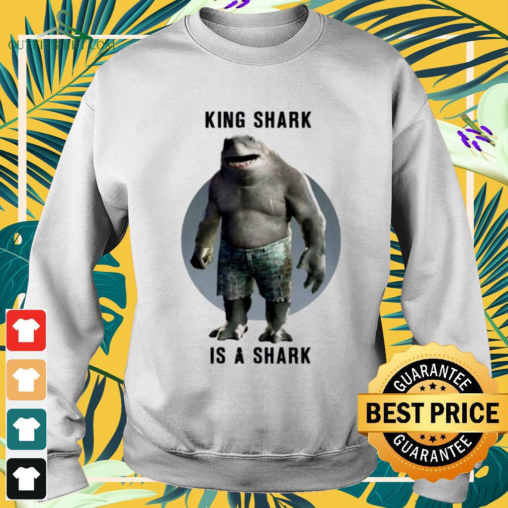 King Shark is a shark The Suicide Squad sweater