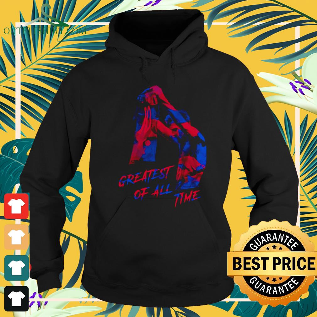 Lionel Messi greatest of all time hoodie
