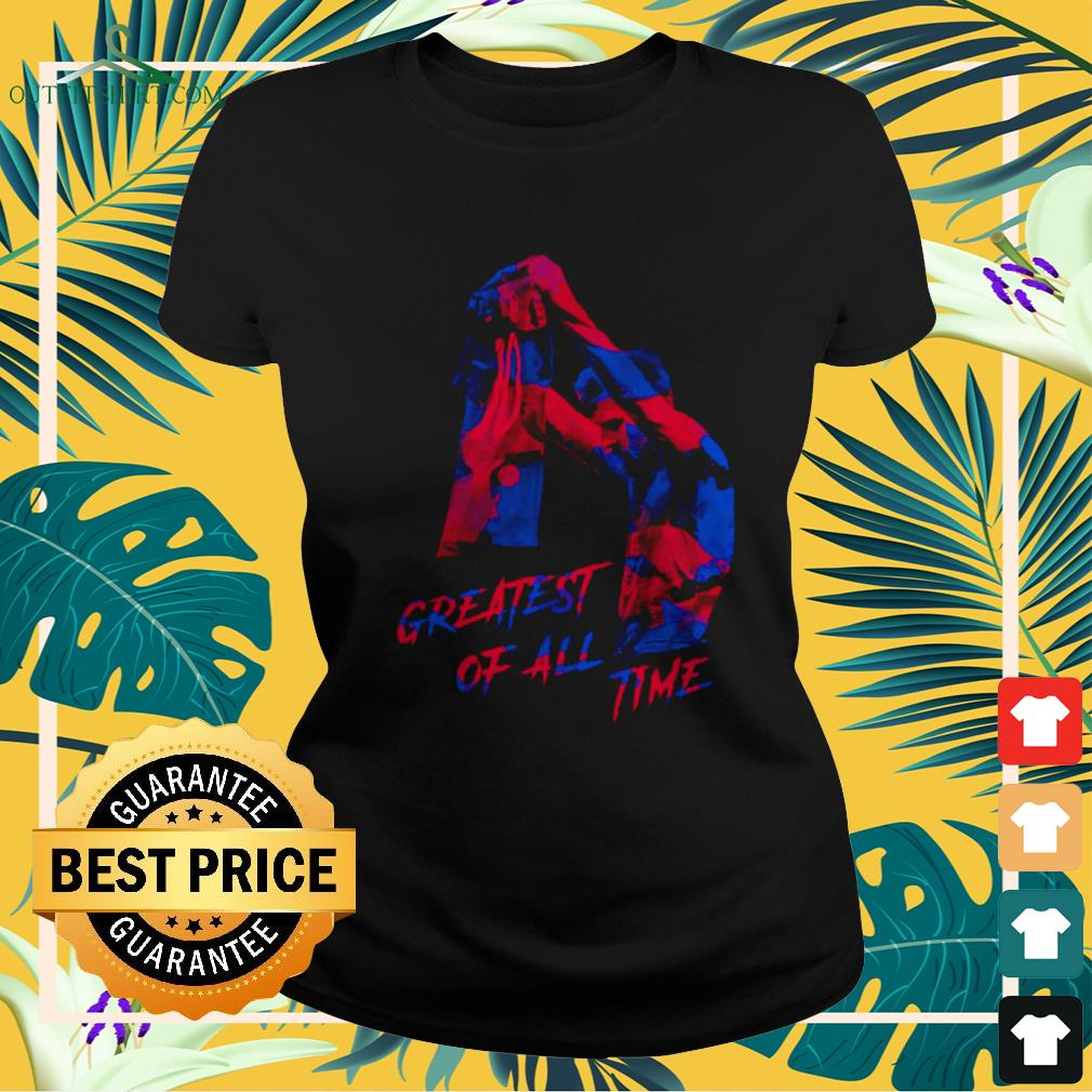 Lionel Messi greatest of all time ladies-tee