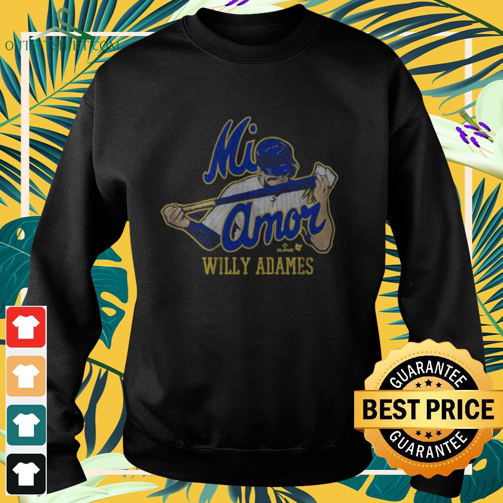 Willy Adames Mi Amor sweater