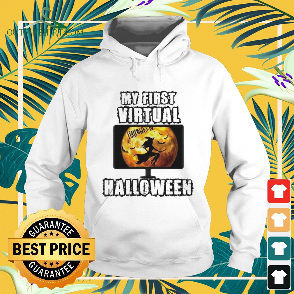 Witch my first virtual spooky Halloween hoodie
