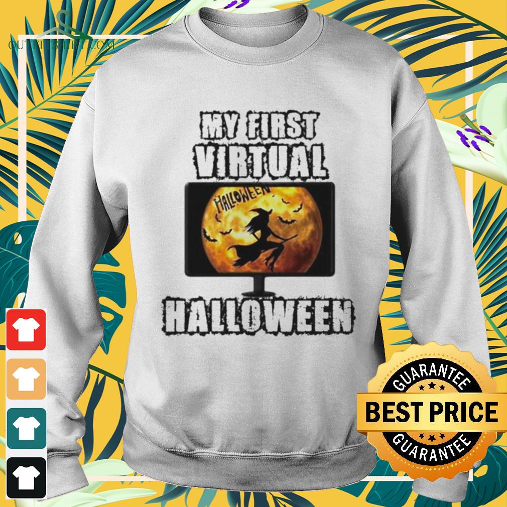 Witch my first virtual spooky Halloween sweater
